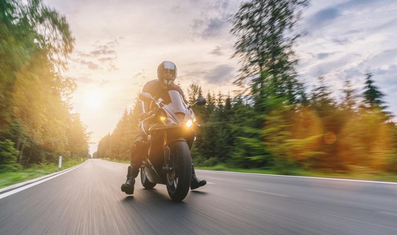 podróżowanie motocyklem