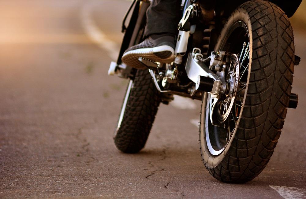 motor w mieście