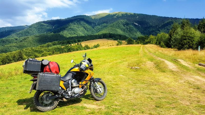 Wyposażenie turysty motocyklowego