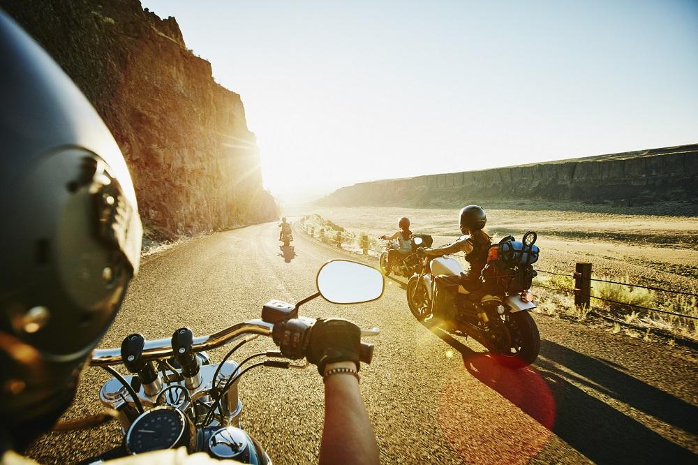 wyjazd motocyklem